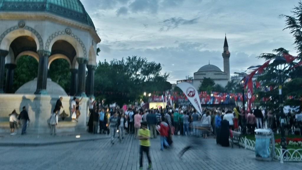 Istanbul Giardini Moschea Blu